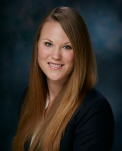 Professional headshot of attorney Ashley Wahl